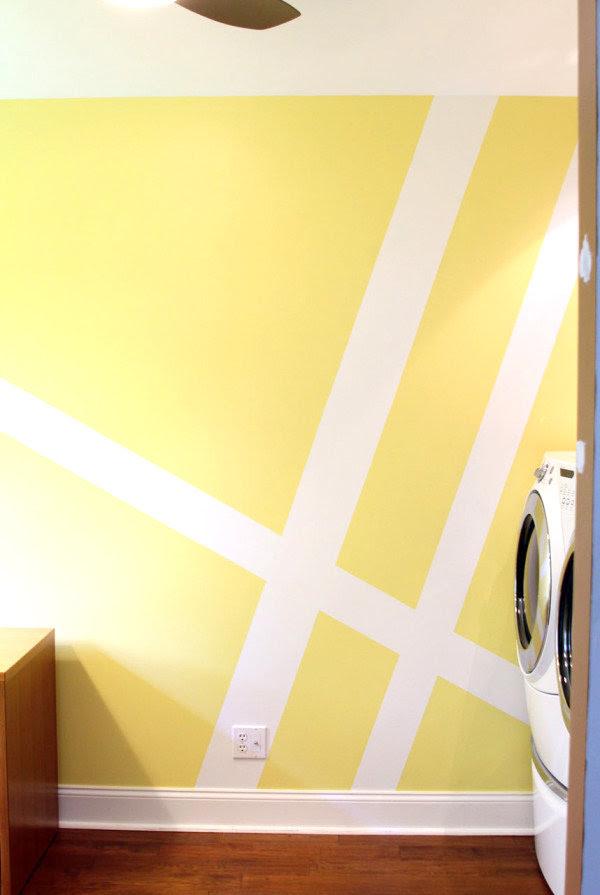 wandgestaltung mit farbe beispiele streifen ~ speyeder, Modern Dekoo