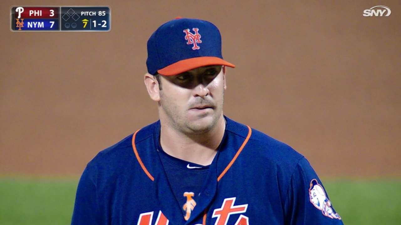 Mets quieren asegurarse que Harvey llegue en ritmo para lanzar en playoffs