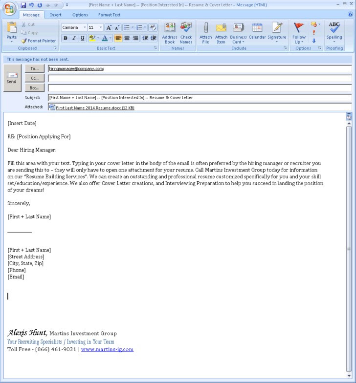Sample Email Cover Letter With Attached Resume from lh6.googleusercontent.com