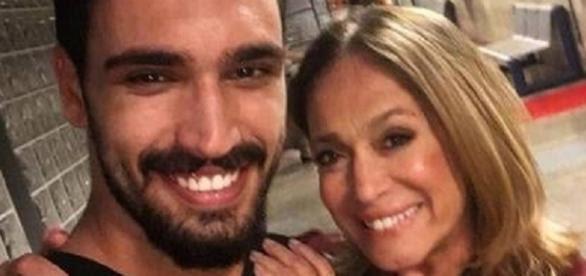 Suzana Vieira e o ator Eduardo Parlagreco - Reprodução / Instagram
