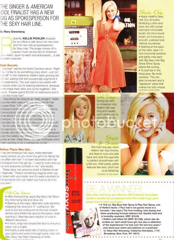 celebrity hairstyle magazine