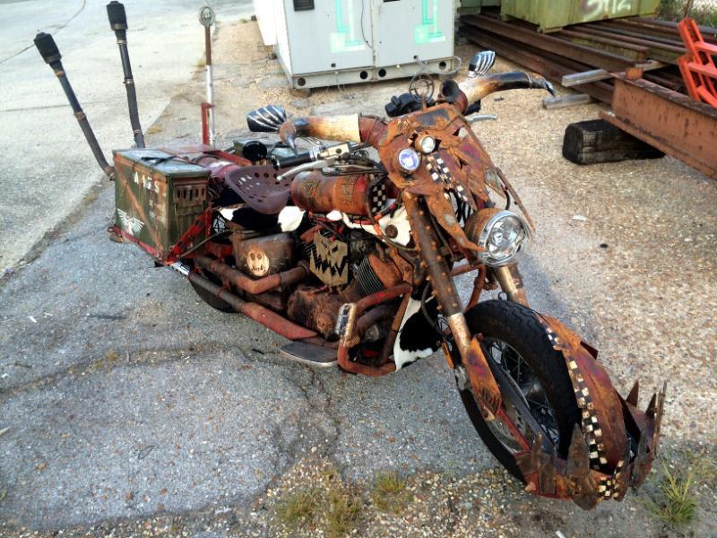 Motorcycle, Orks, Real, Warbike