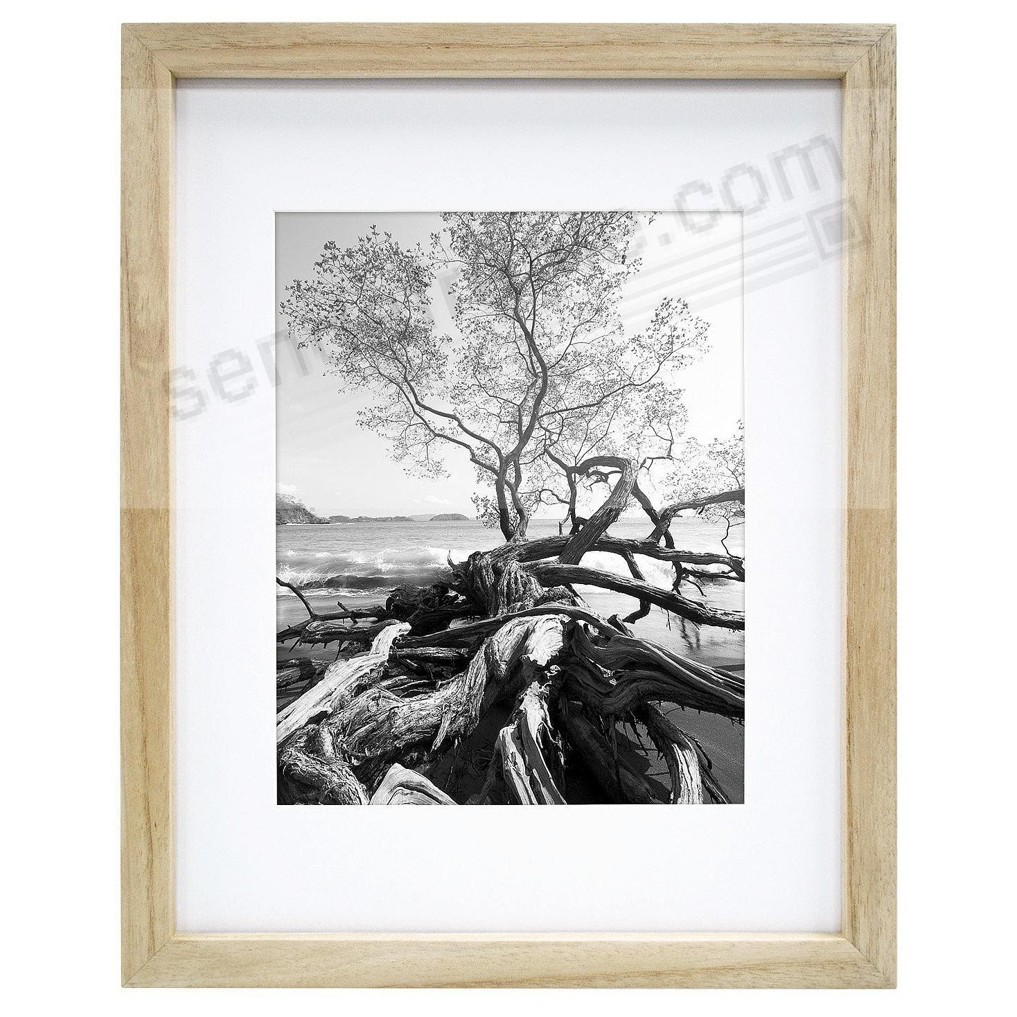 Art Shadow Box ¾in Depth Natural Wood 9x126x8 Frame By Mcs