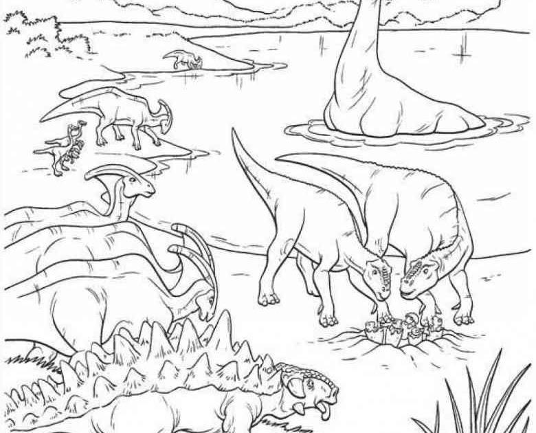 ausmalbilder zum ausdrucken dinos - schablonen ausdrucken