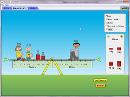 Screenshot of the simulation Balancing Act