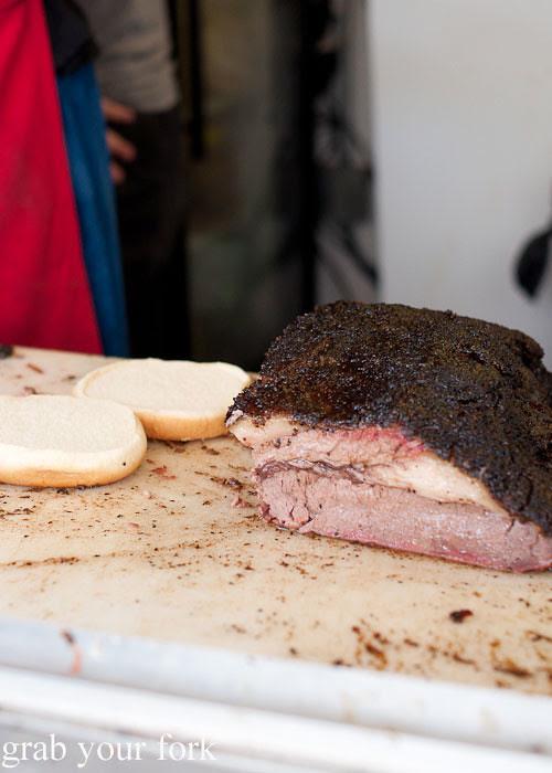 fatty bbq brisket at la barbecue austin texas