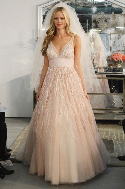 9 Irresistible Pink Wedding Dresses Inspired By Jessica