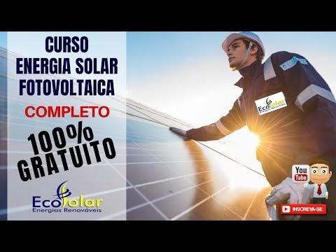 Curso Completo de Energia Solar 100% Gratuito
