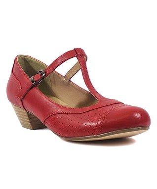 Red Soufflé Mary Jane