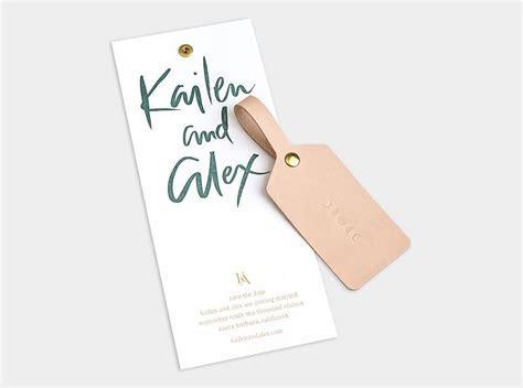 Custom Save the Date / Letterpress / Gold Foil / Custom
