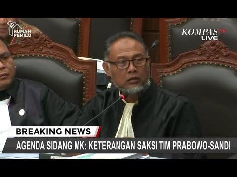 Panas, Hakim Ancam Usir Bambang Widjojanto dari Sidang MK ke-III