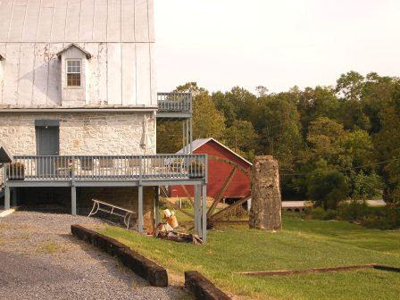 Old Grist Mill in Fisher's Hill VA