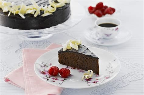 Rich Chocolate Mud Cake Recipe   Taste.com.au