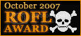 October07 ROFL award