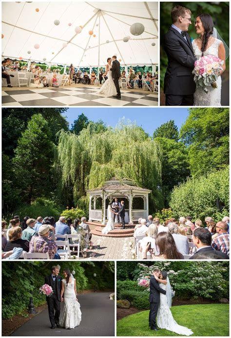 Abigail's Garden wedding at the Abernathy Center in Oregon