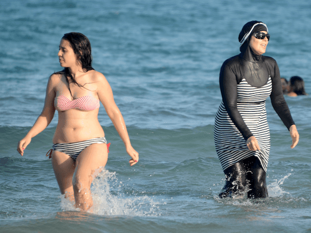 Burkini ban Muslim women beach islamic veil