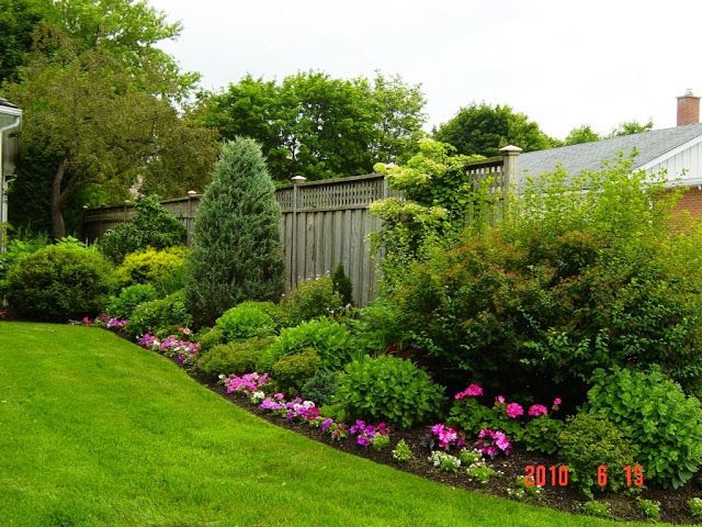 Flower Garden Backyard Landscaping