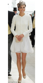Kate Middleton at Epsom Derby 2011