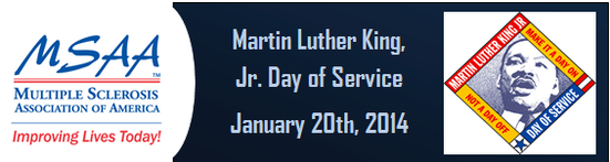Martin Luther King, Jr. Day of Service - January 20th, 2014