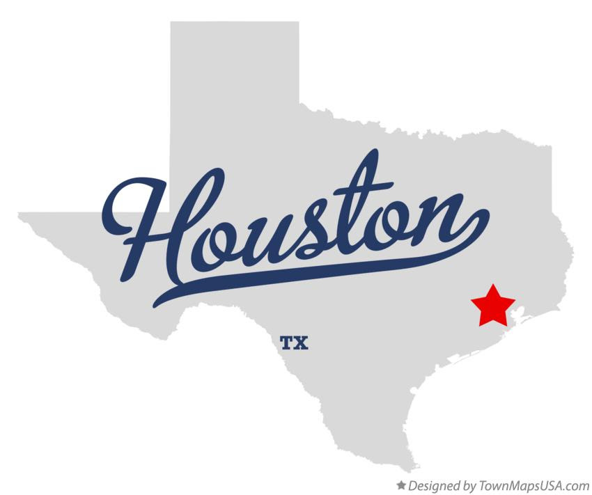 Where Is Houston Texas On The Map