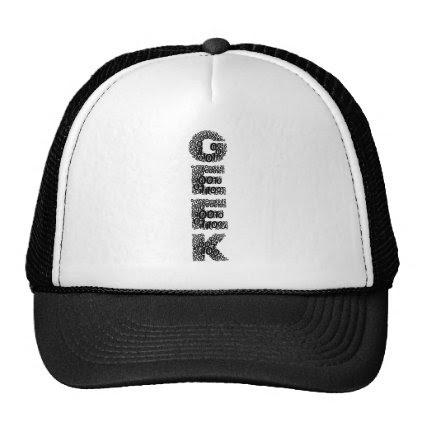 Funny 'Binary GEEK' Trucker Hat Cap Men Women