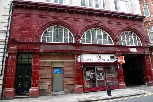 Down Street disused Tube station in Mayfair by Ewan-M