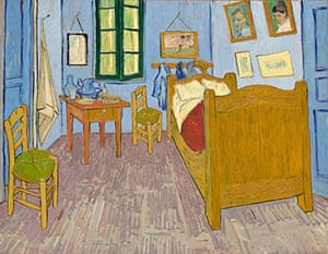 beds in art Van Gogh