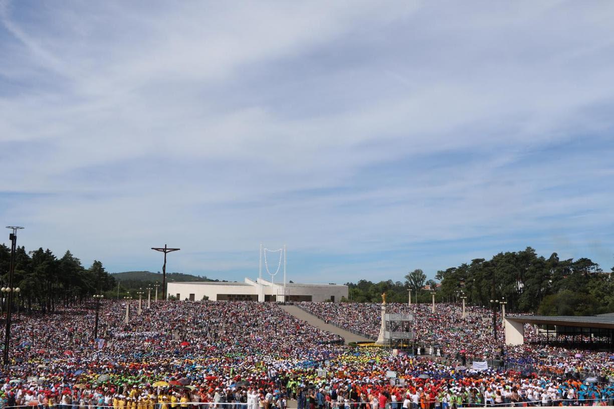 Agência Ecclesia/LFS, Peregrinação Nacional das Crianças ao Santuário de Fátima
