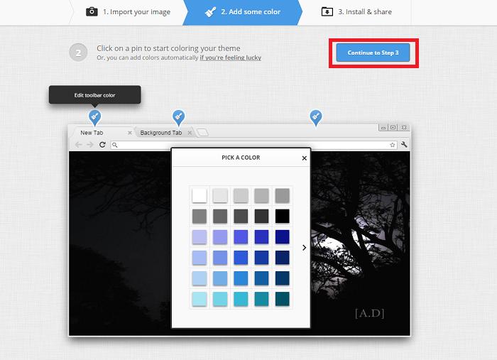 How To Create My Own Google Chrome Theme
