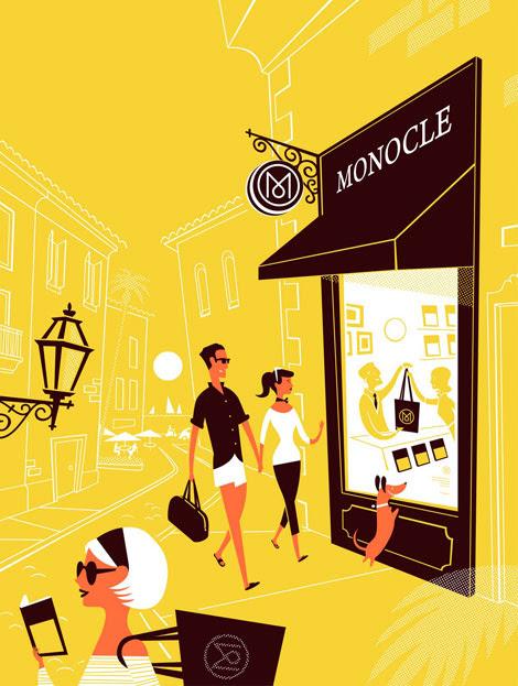 lab partners monocle