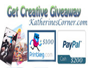 get creative giveaway button
