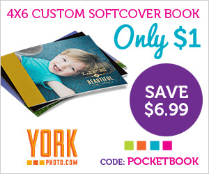 4X6 Custom Softcover Photo Book – Only $1 – Save $6.99!