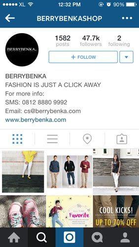 Instagram BerryBenka
