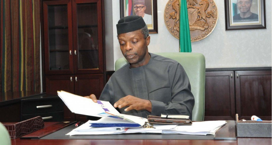 """Image result for Yemi Osinbajo: """"When An Acting President"""