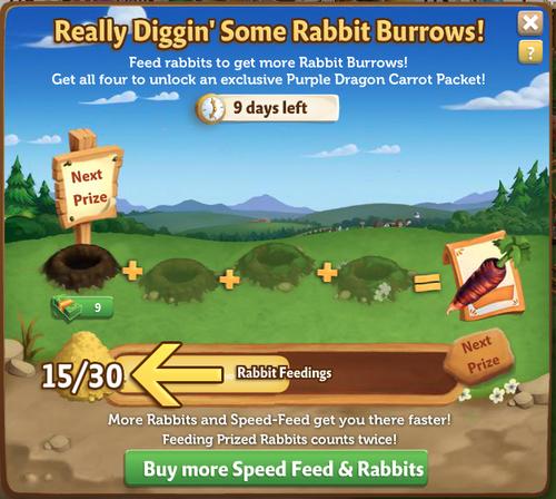 Rabbit Burrow - FarmVille 2