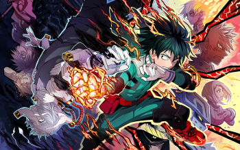 My Hero Academia Season 4 Wallpaper