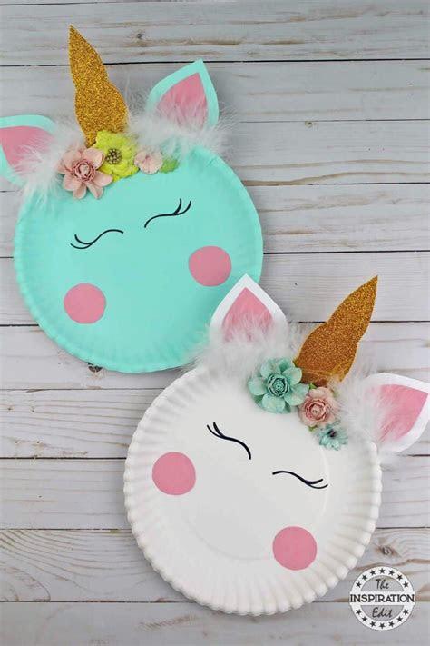 fun unicorn crafts diy thought