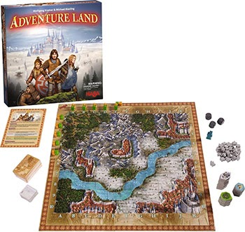Adventureland Board Game Review