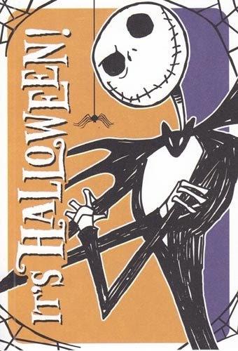 Fabulous Greeting Card Halloween Nightmare Before Christmas Its Funny Birthday Cards Online Ioscodamsfinfo