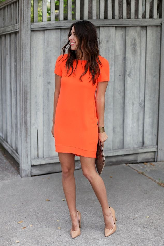 Le Fashion Blog What To Wear To A Summer Wedding Bright Easy Look Orange Dress Nude Heels Via Natalie Dressed photo Le-Fashion-Blog-What-To-Wear-To-A-Summer-Wedding-Bright-Easy-Look-Orange-Dress-Nude-Heels-Via-Natalie-Dressed.jpg
