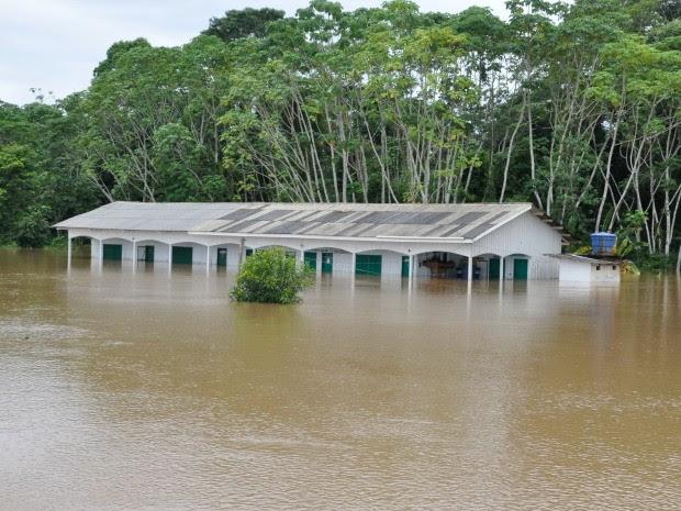Escola Fabio Sá está com as aulas suspensas (Foto: Secretaria Municipal de Educação)