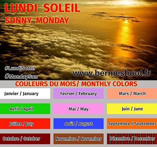 12 couleurs pour #LundiSoleil
