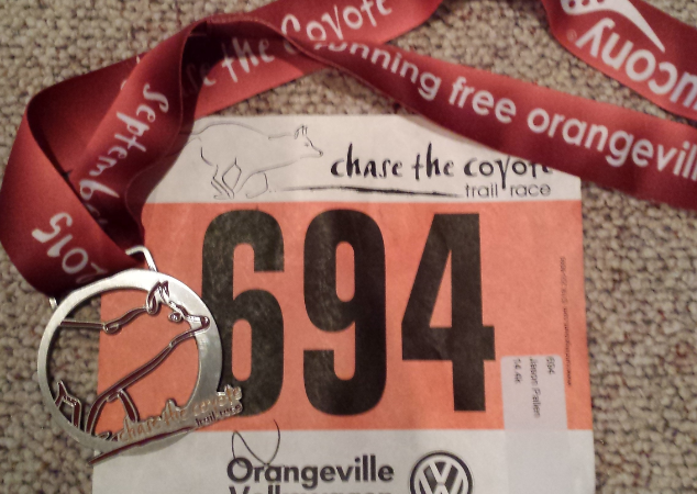 Chase The Coyote – Challenge 14.4k – September 26, 2015
