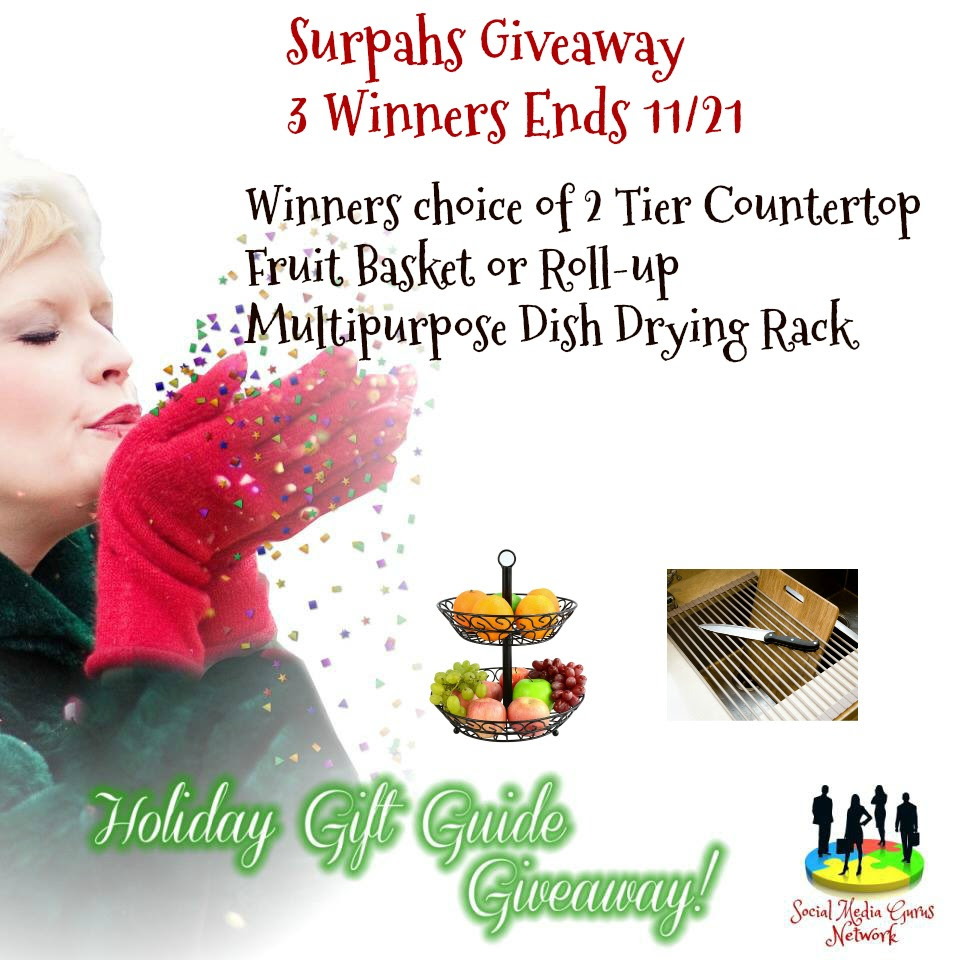 Enter the Surpahs Giveaway. Ends 11/21