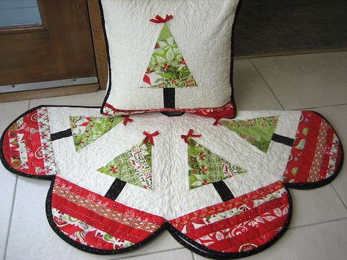 Pillow and matching Tree Skirt