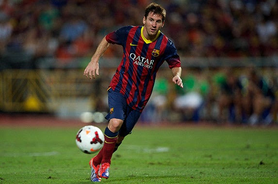 Lionel Messi © mooinblack/Shutterstock.com