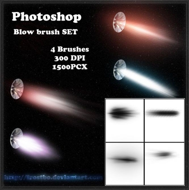 Free Photoshop Brush Sets Blow Brush PS