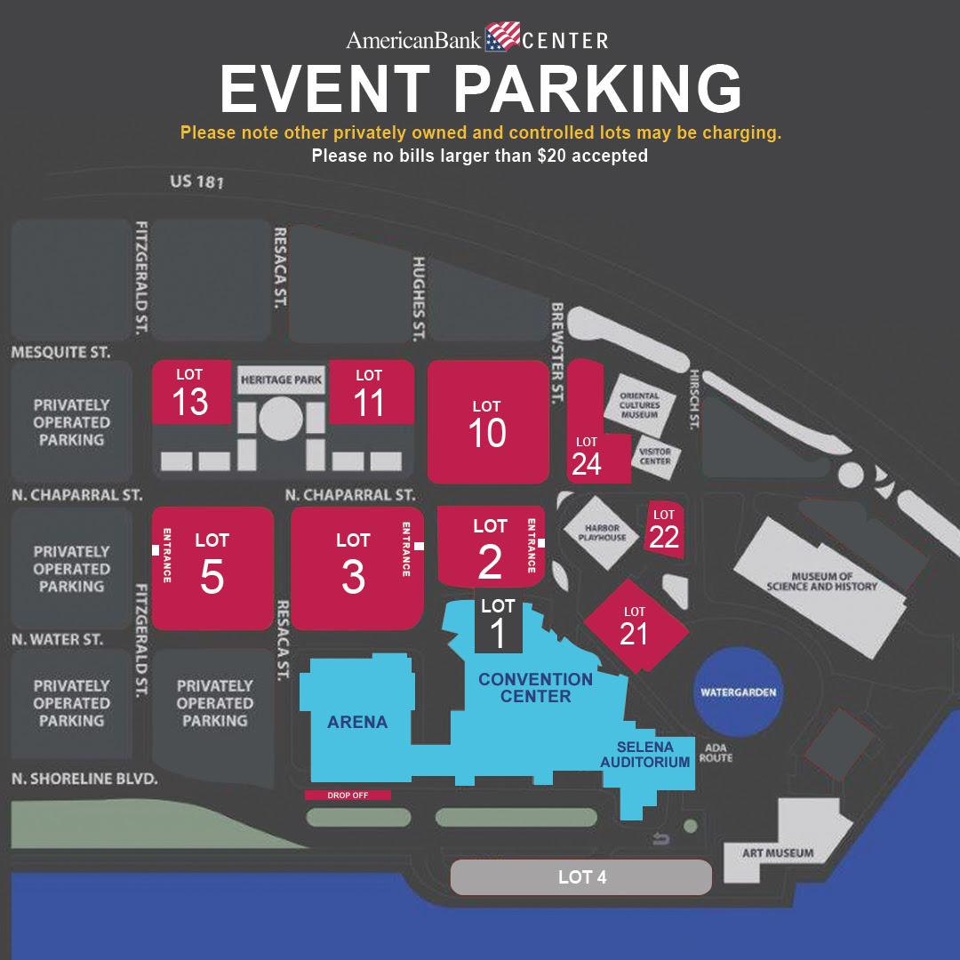 parking lot bank of america stadium parking map