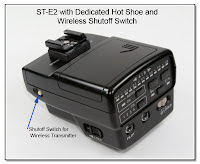 OC1005: ST-E2 with Dedicated Hot Shoe and IR Shut-Off Switch