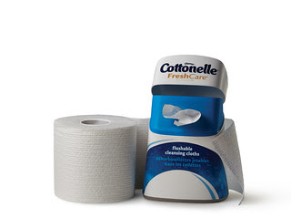 Ann Again and again talks bathroom habits and Cottonelle Cleansing Cloths P2_Hug
